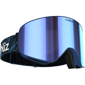 Bliz Flow Goggles, matt blue/brown-blue multi